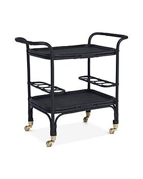 Sika Design - Carlo Rattan Bar Cart