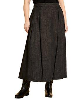 Marina Rinaldi - Calamaio Denim Maxi Skirt
