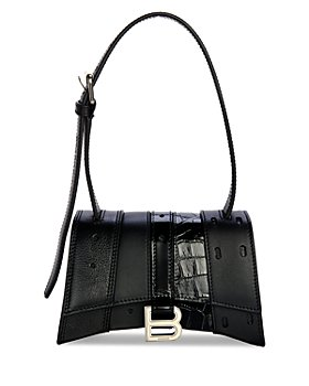 Balenciaga - Mixed Media Mini Leather Shoulder Bag