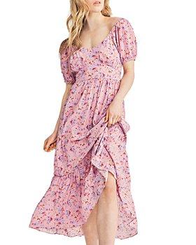 LoveShackFancy - Angie Floral Print Maxi Dress