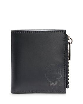 KARL LAGERFELD PARIS - Bifold Leather Wallet