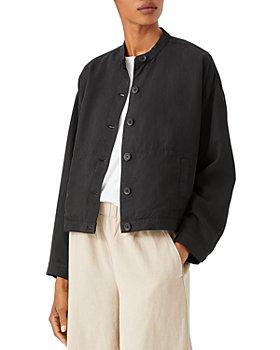 Eileen Fisher - Mandarin Collar Jacket