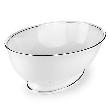"Lenox - Federal ""Platinum"" Open Vegetable Dish"