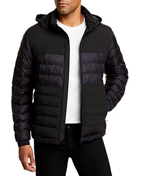 Z Zegna - Quilted Removable Hood Full Zip Puffer Jacket