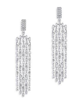 Bloomingdale's - Diamond Fringe Drop Earrings in 14K White Gold, 2.0 ct. t.w. - 100% Exclusive