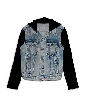 Jonathan Simkhai - Cynthia Contrast Sleeve Denim Jacket