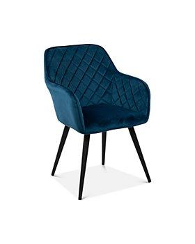 Sparrow & Wren - Hannah Velvet Quilted Accent Chair