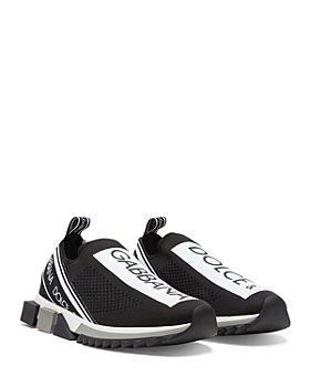 Dolce & Gabbana - Men's Sorrento Logo Slip-On Knit Sneakers
