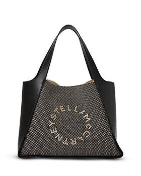 Stella McCartney - Logo Velvet Tote