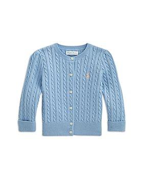 Ralph Lauren - Girls' Cabled Cotton Cardigan - Baby
