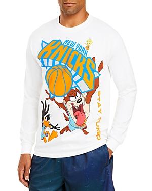 Bleacher Report Cotton Knicks Long Sleeve Tee