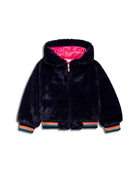 BILLIEBLUSH - Girls' Faux Fur Jacket - Little Kid