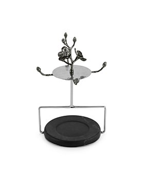 Michael Aram - Black Orchid Demitasse Cup & Saucer Set with Stand