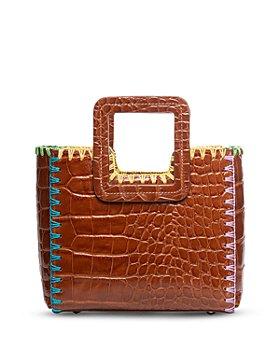 STAUD - Shirley Mini Embossed Leather Handbag