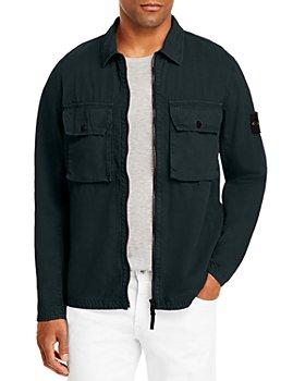 Stone Island - Zip Front Shirt Jacket