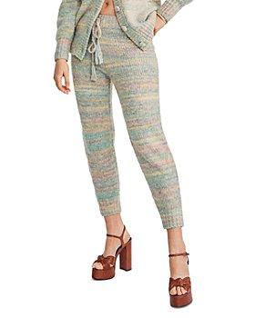LoveShackFancy - Olvera Knit Drawstring Pants