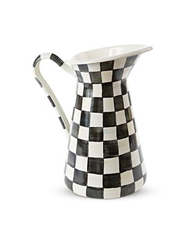 Mackenzie-Childs - Courtly Check Enamel Practical Pitcher, Large