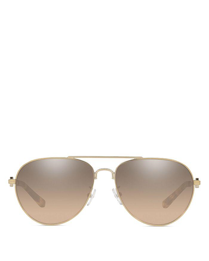 Tory Burch - Women's Aviator Sunglasses, 58mm