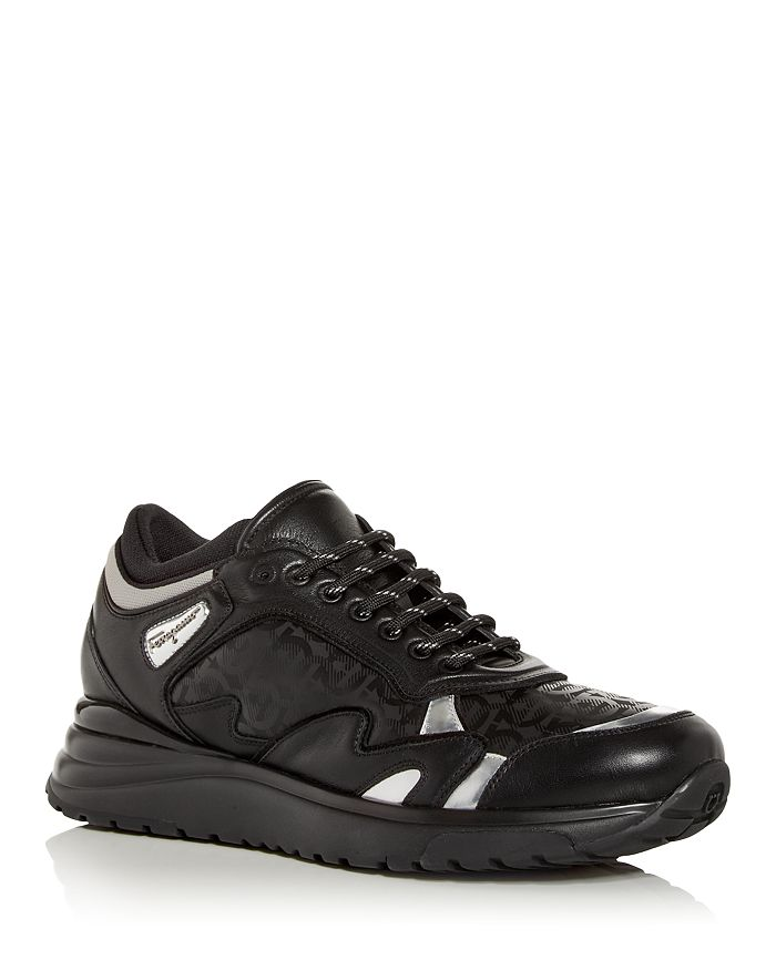 Salvatore Ferragamo - Men's Nowst Low Top Sneakers