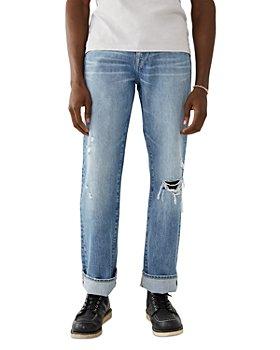 True Religion - Ricky Straight Fit Jeans in Dream Maker Light Wash