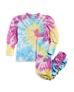 CHASER - Girls' Puff Sleeve Pullover & Jogger Pants Set - Little Kid, Big Kid