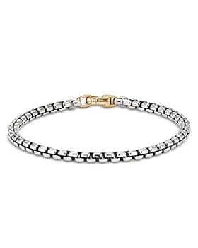 David Yurman - 14K Yellow Gold & Sterling Silver Bel Aire Rounded Box Link Bracelet