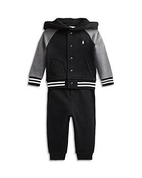 Ralph Lauren - Boys' Cotton Blend Hoodie & Joggers Set - Baby