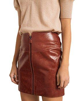 ba&sh - Melba Leather Skirt