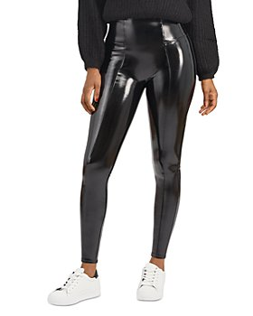 SPANX® - Faux Patent Leather Leggings