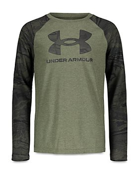 Under Armour - Boys' UA Tech Long Sleeved Raglan Tee - Big Kid