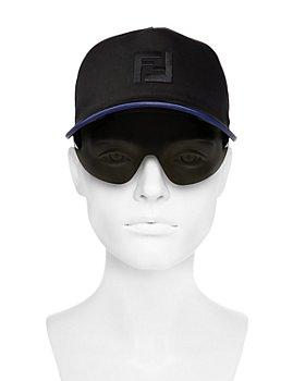 Fendi - Fashion Show Baseball Cap with Integrated Sunglasses