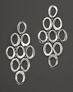 IPPOLITA - Sterling Silver Open Oval Cascade Earrings