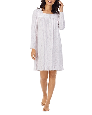 Printed Short Cotton Nightgown