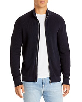 Theory - Walton Full Zip Ribbed Sweater - 100% Exclusive