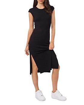 1.STATE - Cap Sleeve Midi Dress