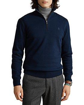 Polo Ralph Lauren - Regular Fit Quarter Zip Mock Neck Sweater