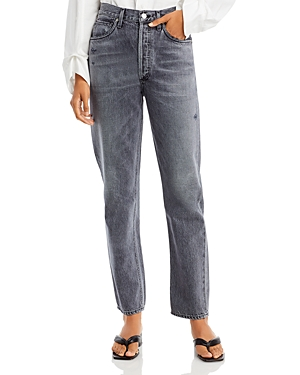 Citizens of Humanity Sabine Straight Leg Jeans in Black Coffee