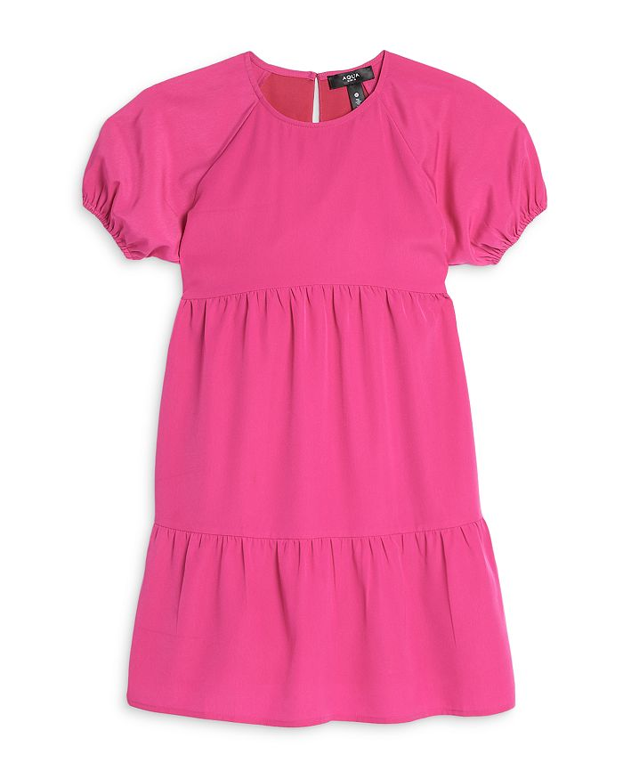 AQUA - Girls' Tiered Dress, Big Kid - 100% Exclusive
