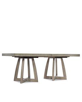 """Hooker Furniture - Affinity 78"""" Rectangle Pedestal Dining Table"""