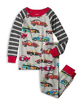 Hatley - Boys' Organic Cotton Classic Race Cars Printed Pajama Set - Little Kid, Big Kid