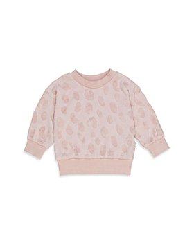 Huxbaby - Girls' Terry Textured Sweatshirt - Baby