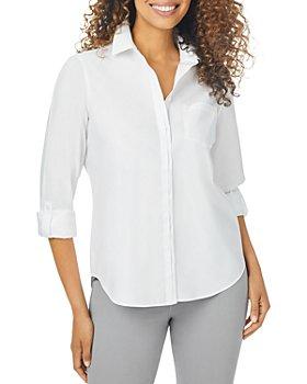 Foxcroft - Charlie Non Iron Tab Sleeve Shirt
