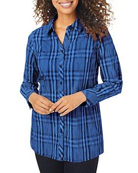 Foxcroft - Journey Crinkle Tunic Shirt