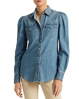Ralph Lauren - Western Style Denim Shirt