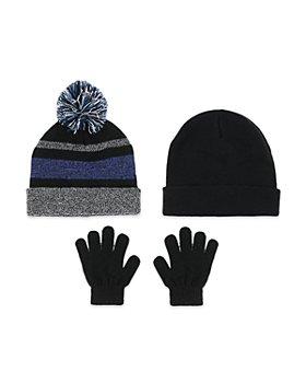 Capelli - Boys' 3 Pc. Hats & Gloves Set - Big Kid
