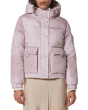 Cheyenne Stone Wash Hooded Puffer Coat