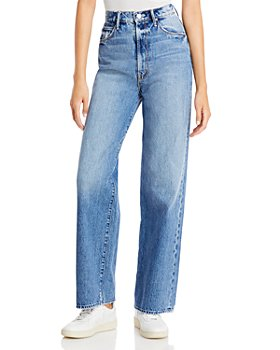 MOTHER - High Waist Tunnel Vision Sneak Jeans in Take Me Higher
