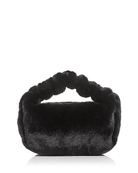 Alexander Wang - Scrunchie Small Faux Fur Clutch