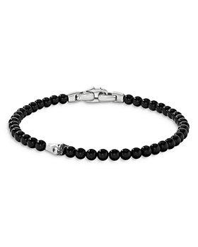 David Yurman - Spiritual Beads Shark Tooth Bracelet with Black Onyx