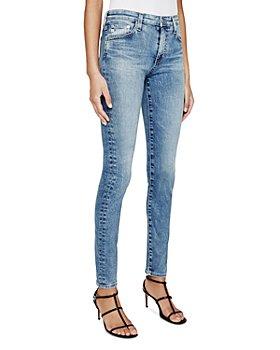AG - Farrah Ankle Skinny Jeans in 10 Years Poplar